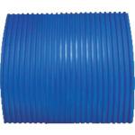YOTSUGI 耐電ゴム板 青色 B山 10T×1M×1M(YS2341731)