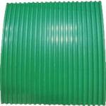 YOTSUGI 耐電ゴム板 緑色 B山 10T×1M×1M(YS2341741)