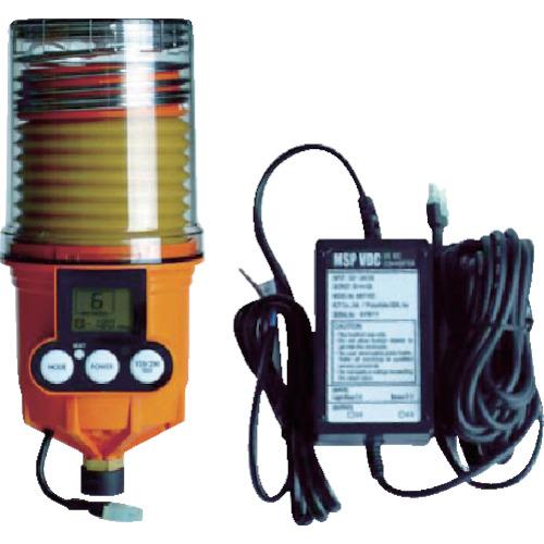 パルサールブ M 250cc DC外部電源型モーター式自動給油機(グリス空)(MSP250MAINVDC)