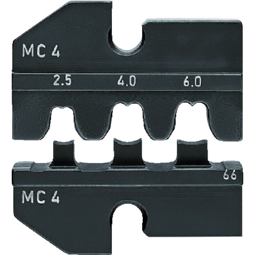 KNIPEX 9749-66 圧着ダイス (9743-200用)(974966)