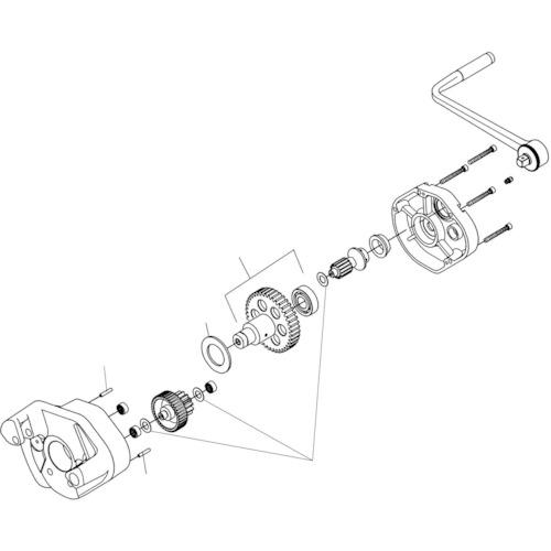 RIDGE ドライブ シャフト F/915(16408)