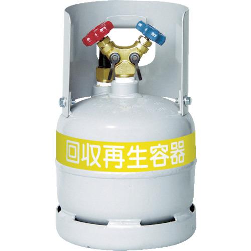 アサダ フロン回収ボンベ フロートセンサー付 絶品 無記名 6L オリジナル TF090