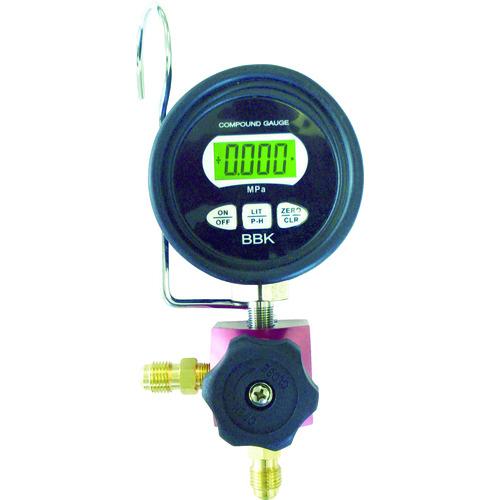 BBK シングルデジタルマニホールド R-410A用(WD2410CMB)