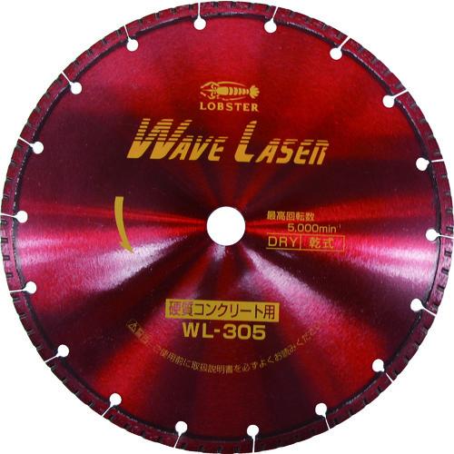 エビ ダイヤモンドホイール ウェブレーザー(乾式) 304mm穴径20mm(WL30520)