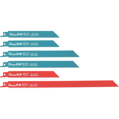 ハウスB.M 兼用セーバーソーブレード10枚入り ステンレス用200×24山(SU2024)