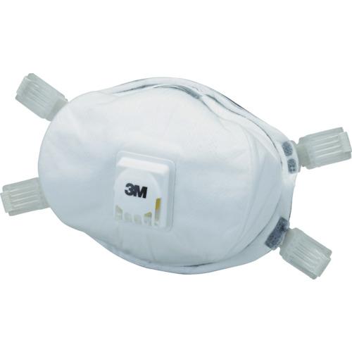 3M 使い捨て式防じんマスク 8293 DL3 5枚入り 排気弁付き(8293DL3)