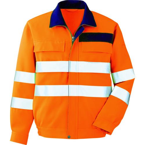 ミドリ安全 高視認 ブルゾン オレンジ LL(VE325UELL)