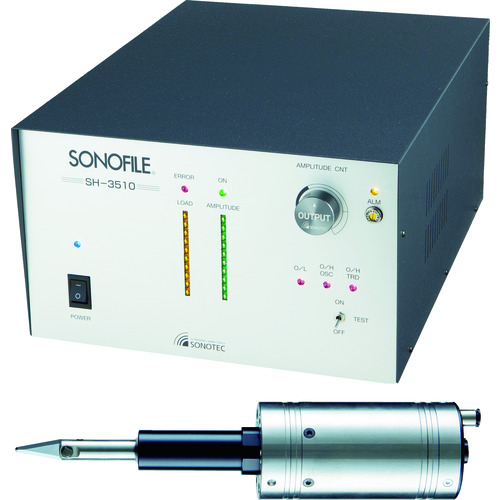 SONOTEC SONOFILE 超音波カッター SH3510.HP8701 ハロウィン 30%OFFクーポン! 謝礼 売れ行き好調