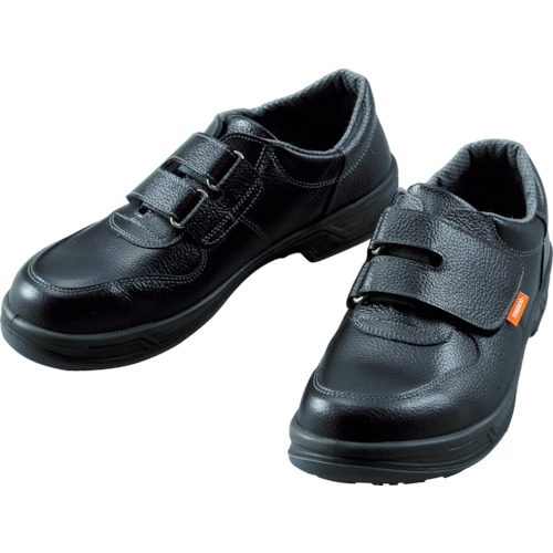 TRUSCO 安全靴 短靴マジック式 JIS規格品 27.0cm(TRSS18A270)