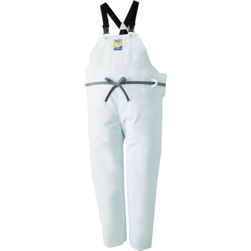 ロゴス マリンエクセル 胸当て付きズボン膝当て付きサスペンダー式 ホワイト L(12063612)