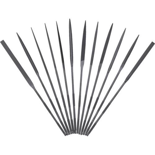 ツボサン 精密ヤスリ 12本組セット(ST01256T)