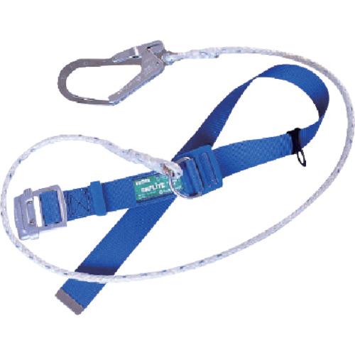 ツヨロン 防塵型セフライト安全帯 青色 軽量型 クロスロープ付(SAFN5CBL4PDBX)