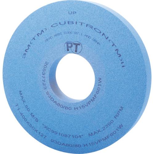 3M キュービトロン2 精密円筒研削用砥石(400X5093DA80H15)