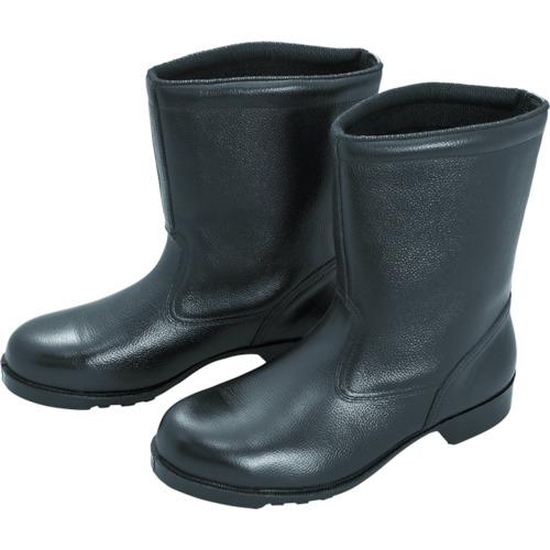 ミドリ安全 ゴム底安全靴 半長靴 V2400N 24.5CM(V2400N24.5)