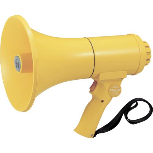 TOA 中型ハンド型メガホン ホイッスル音付き(ER1115W)