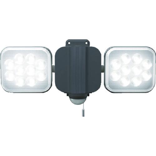 ムサシ 12W×2灯 フリーアーム式LEDセンサーライト(LEDAC2024)