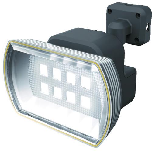 ムサシ 8Wワイド フリーアーム式LEDソーラーセンサーライト(S80L)