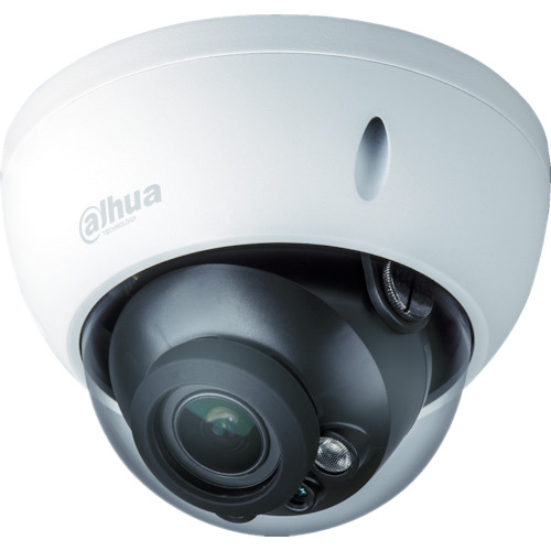 Dahua 1M IR防水ドーム型カメラ φ122×89 ホワイト(DHHACHDBW1100RPVF)