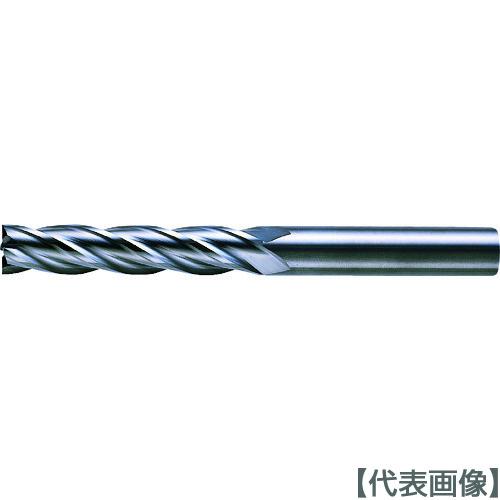 三菱K 4枚刃超硬センタカットエンドミル(ロング刃長) ノンコート 3mm(C4LCD0300)