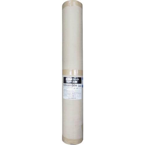 ユタカ 白防炎シートロール(普及型) 0.9m×50m(BWF095)
