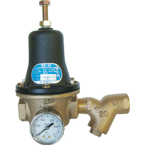 ヨシタケ 水用減圧弁ミズリー 20A(GD24GS20A)