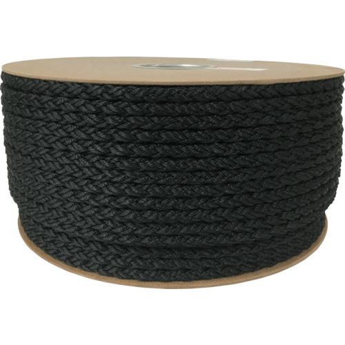 ユタカ ポリエステルクロス係留ドラム巻 9φ×150m 黒(PRD51)