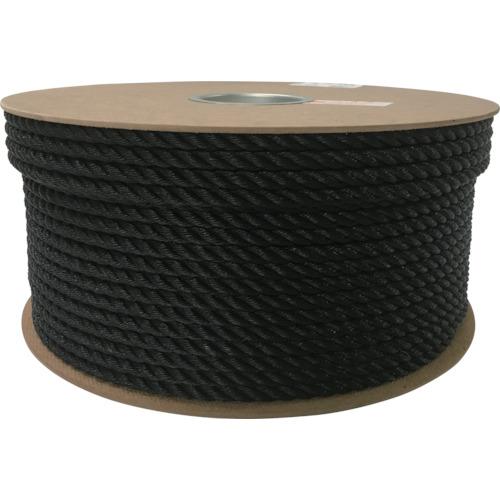 ユタカ ポリエチレンロープドラム巻 9mm×150m ブラック(PRE54)