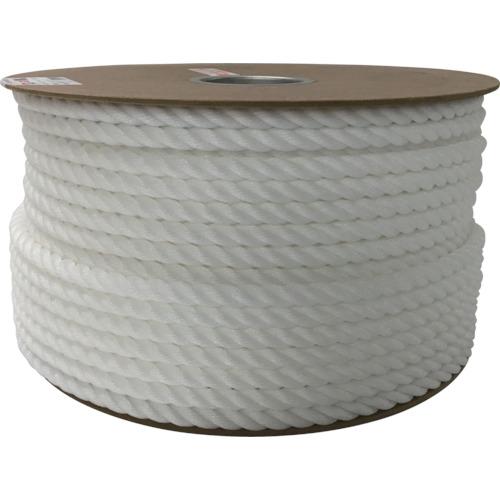 ユタカ ポリエチレンロープドラム巻 12mm×100m ホワイト(PRE67)