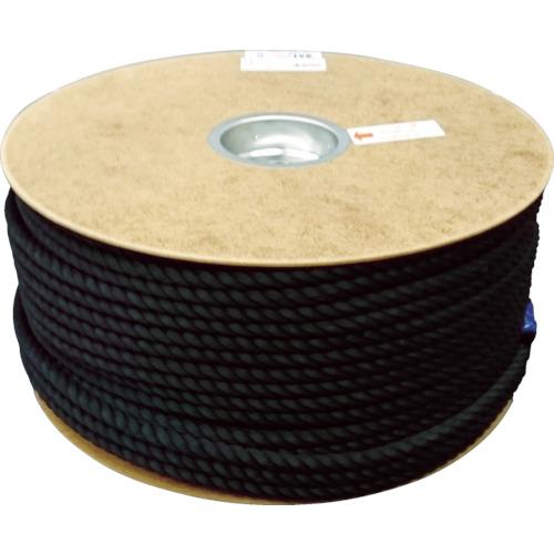 ユタカ ポリエステルロープ ドラム巻 9φ×150m 黒(PRS51)