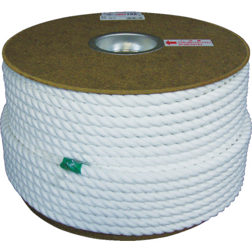 ユタカ ポリエステルロープドラム巻 12φ×100m(PRS6)