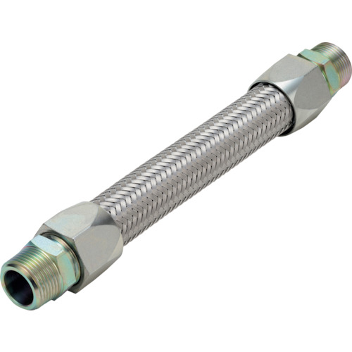 NFK メタルタッチ無溶接式フレキ ニップル鉄 25A×1000L(NK340251000)