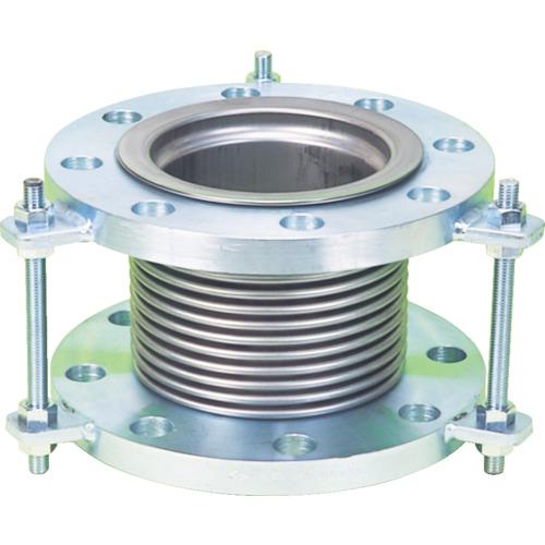 NFK 排気ライン用伸縮管継手 5KフランジSS400 100AX100L(NK7300100100)