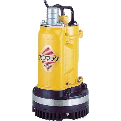 川本 工事用水中排水ポンプ 商品追加値下げ在庫復活 全品送料無料 DUM25051.5