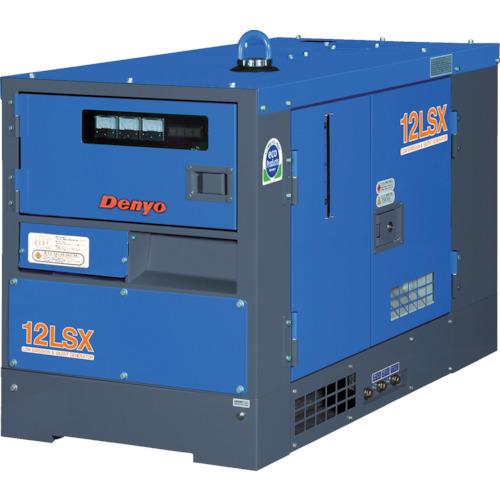 デンヨー 防音型ディーゼルエンジン発電機(TLG12LSX)