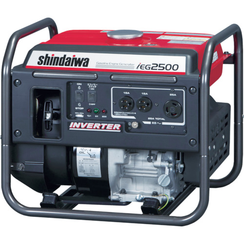 【最安値挑戦!】 新ダイワ インバータ発電機 2.5kVA(IEG2500):ペイントアンドツール-DIY・工具
