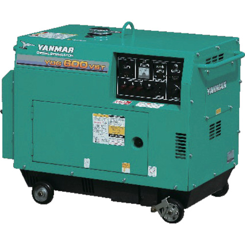ヤンマー 空冷ディーゼル発電機(YDG600VST5E)