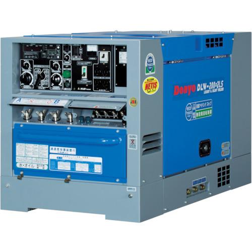 デンヨー ディーゼルエンジン溶接機超低騒音型(DLW200X2LS)