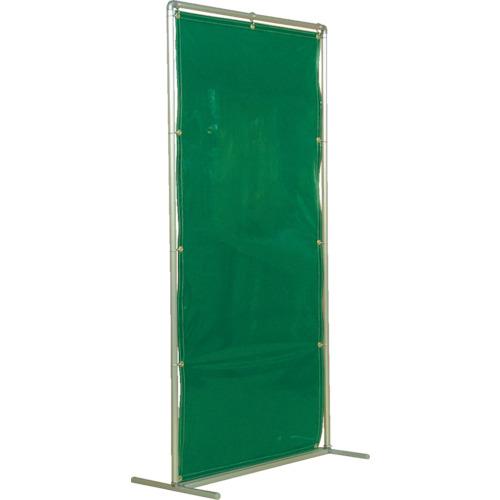 吉野 遮光フェンスアルミパイプ 1×2 単体固定 グリーン(YS12SFG)