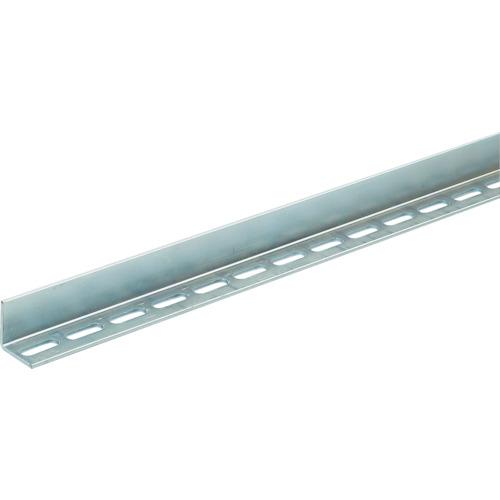 TRUSCO 配管支持用片穴アングル 40型 スチール L2400 5本組(TKL4S240U)