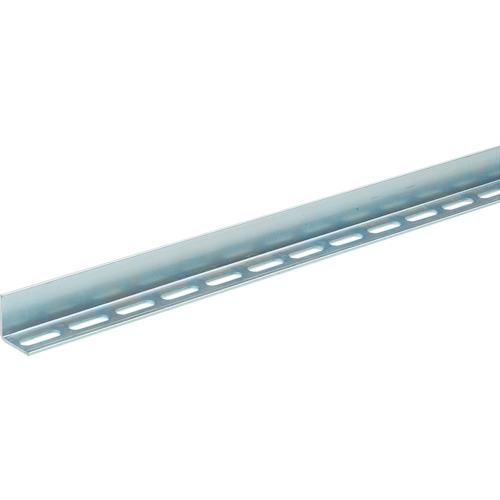TRUSCO 配管支持用片穴アングル 50型 スチール L2100 5本組(TKL5S210U)