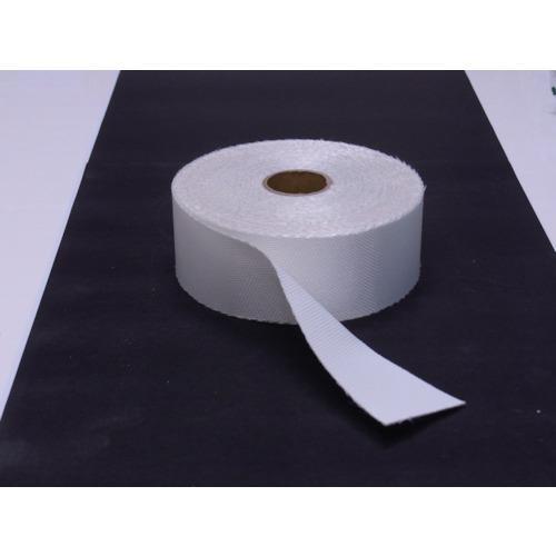 TRUSCO ノンセラクロステープ 0.8X100mm 20m 片面樹脂加工(TACT08100)