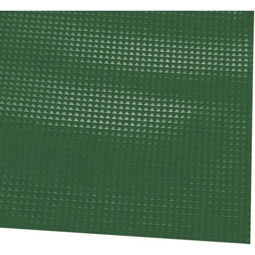 ミヅシマ ビニール長マット ピラミッド 910mmX20M 緑(4110320)