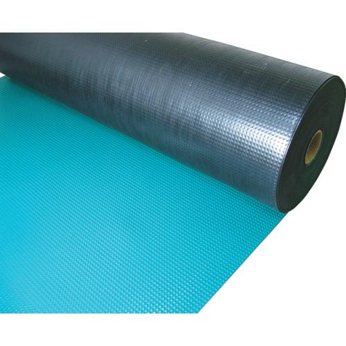 TRUSCO 塩ビマット ピラミッド グリーン 1.5mmX915mmX20m(TEPM920GN)
