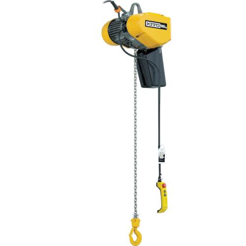 ★お求めやすく価格改定★ キトー EQ形電気チェーンブロック 懸垂形 980kg(IS)×4m(EQ009IS):ペイントアンドツール-DIY・工具