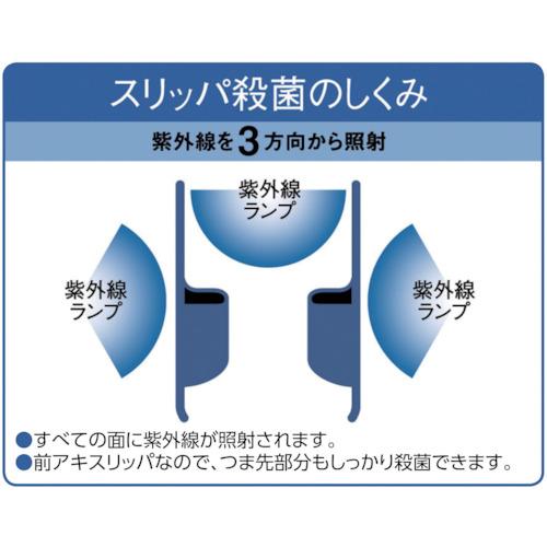 IHI スリッパ殺菌ディスペンサーSSDXブルースリッパ20足+ネーム加工賃込み(840622SK2BLUE)
