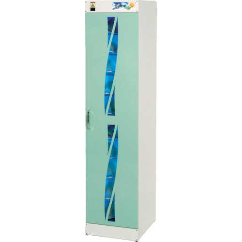 コトヒラ 光触媒方式スリッパ殺菌ロッカー10足用縦(KES010)