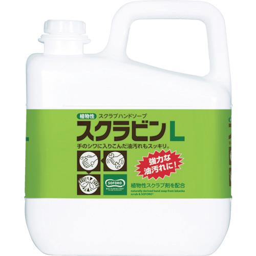 サラヤ 植物性スクラブハンドソープ スクラビンL 5kg(23152)