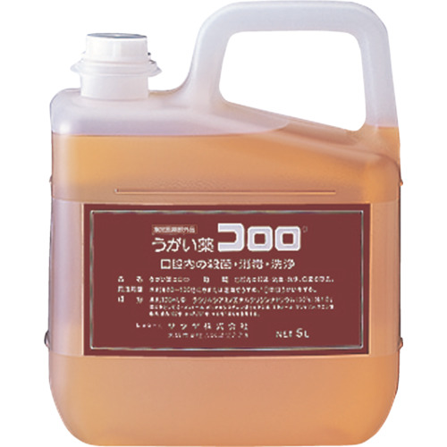 サラヤ うがい薬コロロ 5L(12834)