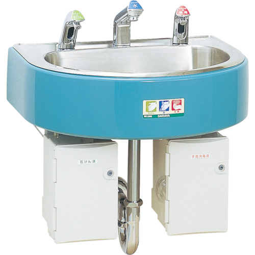 サラヤ 自動手指洗浄消毒器 WS‐3000(46622)