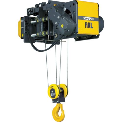 キトー ロープホイストRKホイスト ローヘッド形 2.8t×6m M5等級(RKL5028DH06)